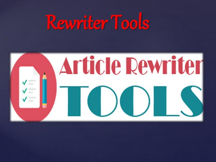 Rewriter Tool In Predictions